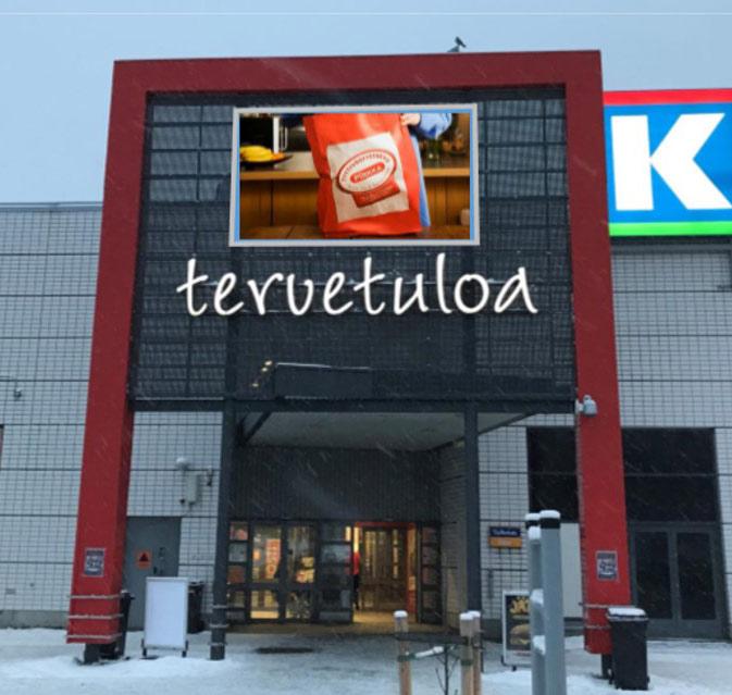 Kuopio: KCM Kolmisoppi, sisäänkäynti 2