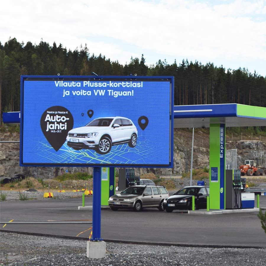 Pirkkala: Neste Express Linnakallio