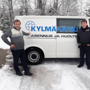 Aaretti Sipilä, toimitusjohtaja, Kylmäkärki Oy
