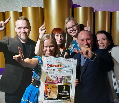 Kolme Mediatalo Keskisuomalaisen kaupunkilehteä kymmen parhaan joukossa – Kuopion Kaupunkilehti paras
