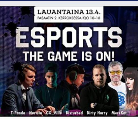 Natiivimainonta ja monikanavainen some-markkinointi tavoittivat Esports-tapahtuman kohderyhmän!