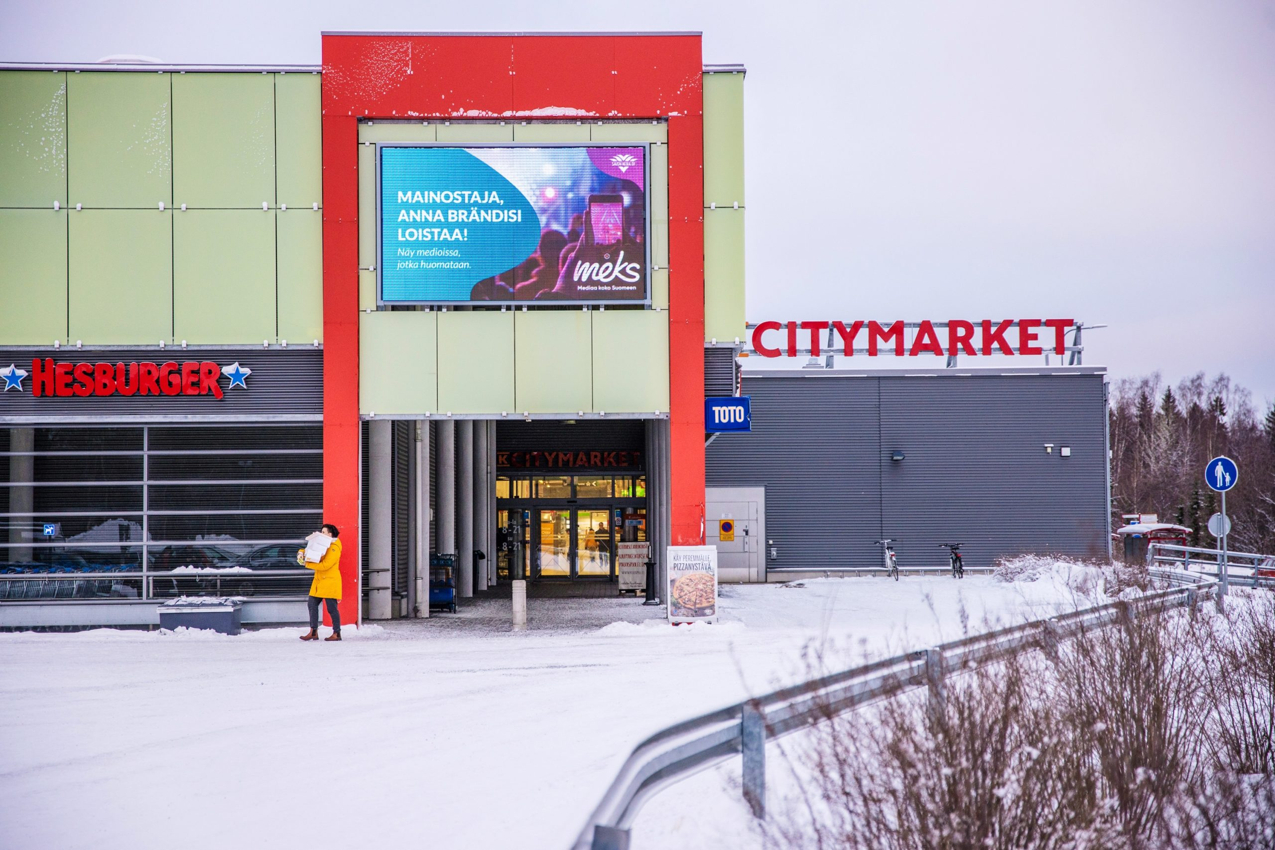 Kuopio: KCM Päiväranta, sisäänkäynti 2