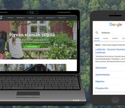 Google-mainonnalla mittavaa kasvua