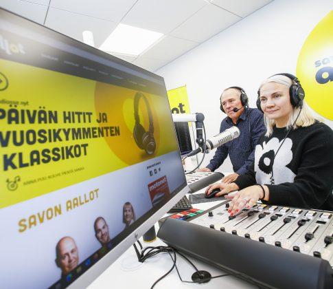 Aidosti paikallinen Savon Aallot tavoittaa kattavasti koko Pohjois-Savon kuulijat