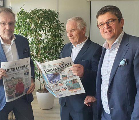 Keskisuomalainen Oyj on allekirjoittanut kauppakirjan Hämeen Sanomat -konsernin ostamiseksi